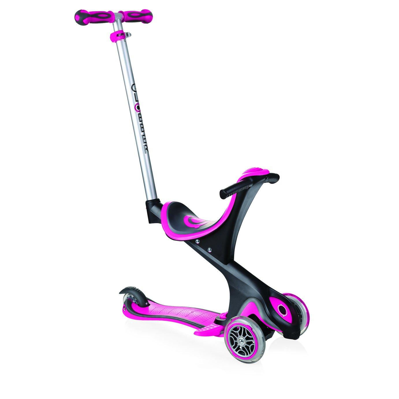 Globber Comfort Evo Scooter - Deep Pink