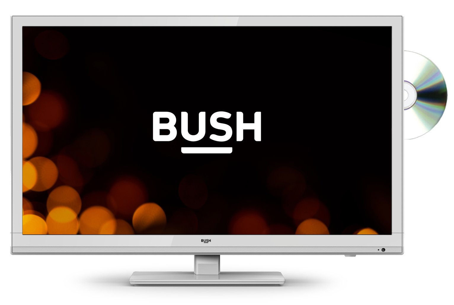 Bush 24 Inch HD Ready TV/DVD Combi - White