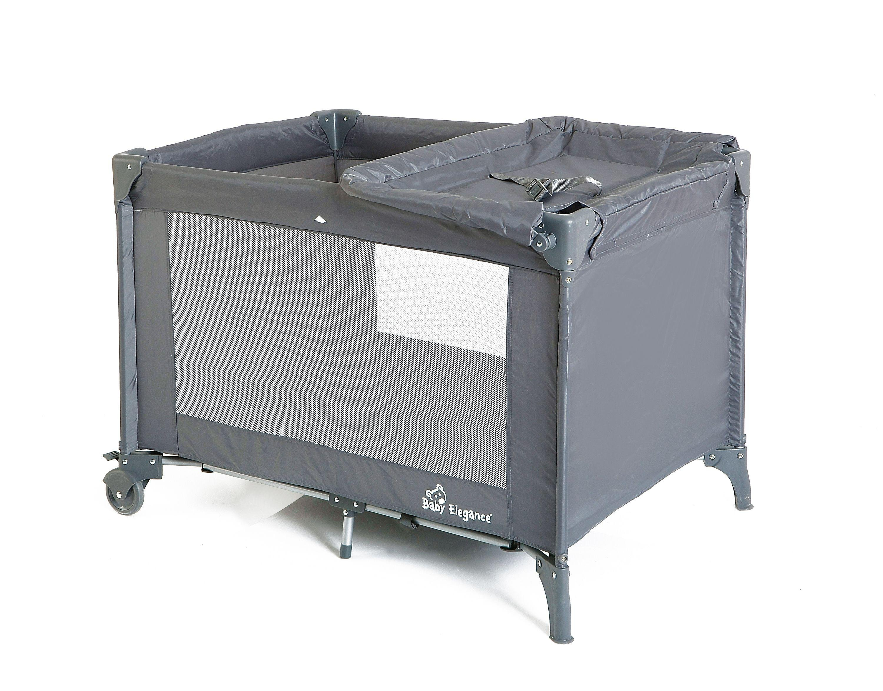 Image of Baby Elegance Double Layer Travel Cot.