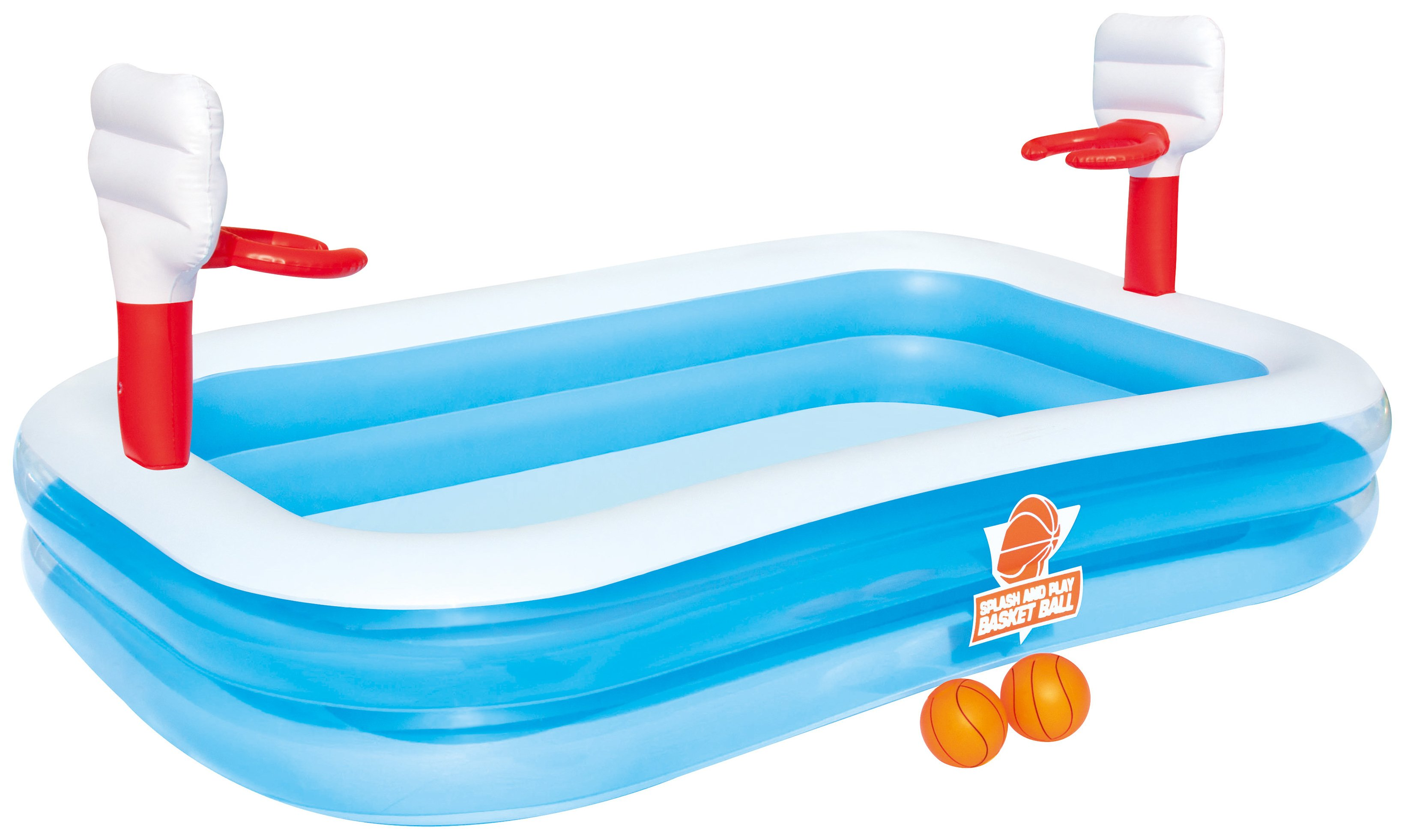 Image of Bestway Basketball Play Pool - 8ft - 636 Litres.