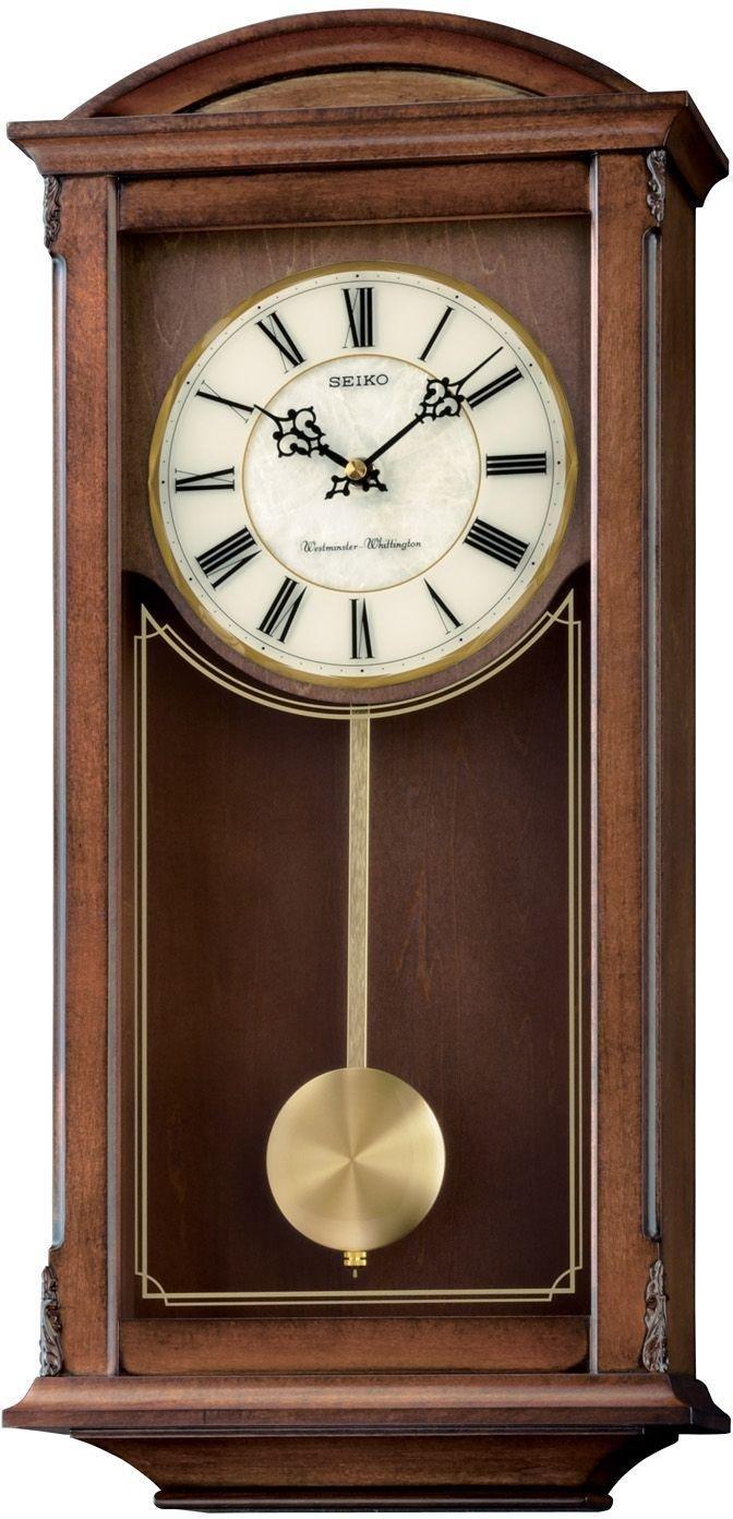 Seiko Contemporary Pendulum Wall Clock