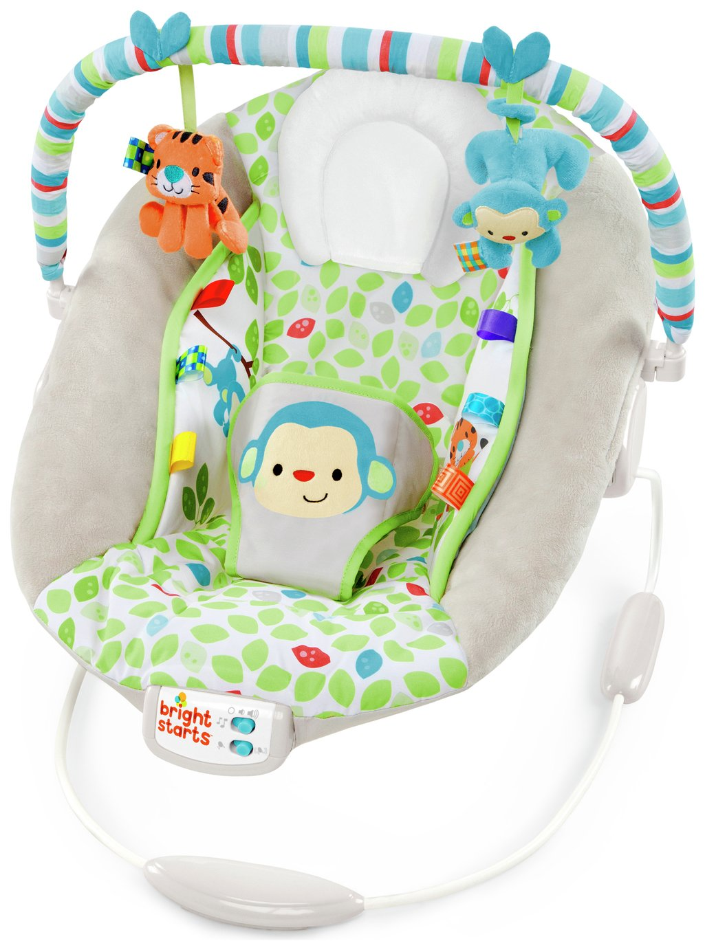 Image of Bright Starts Merry Monkeys Cradling Bouncer