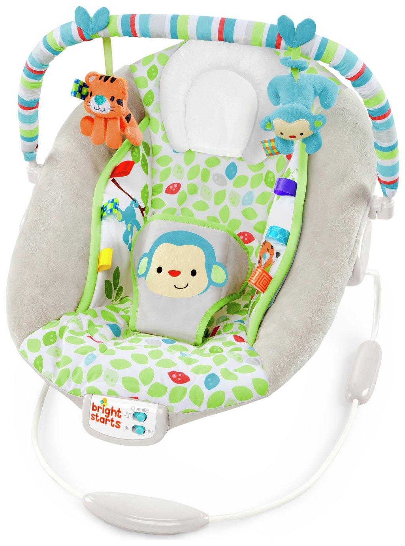 Bright Starts Merry Monkeys Cradling Bouncer