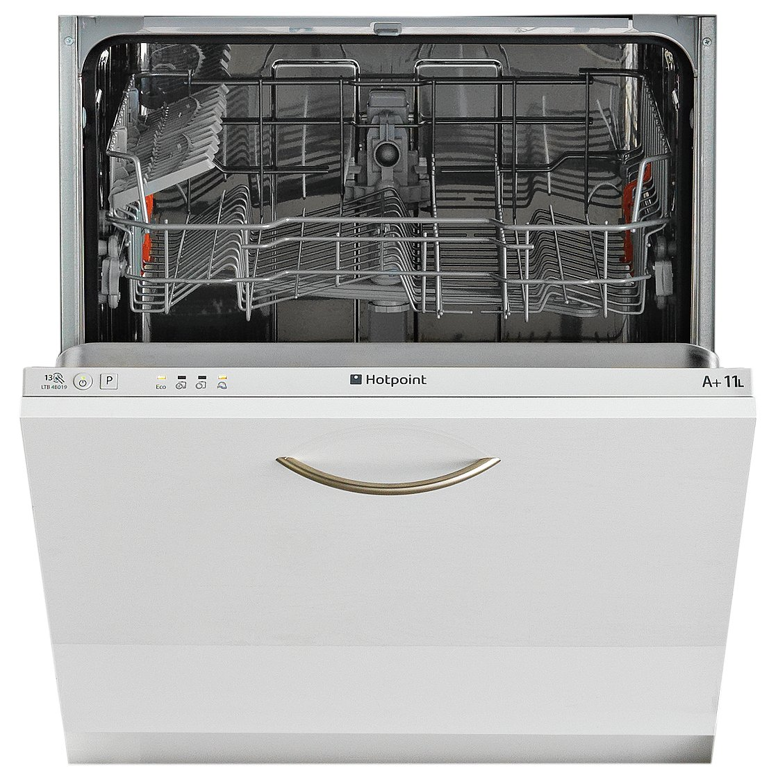 Image of Hotpoint Aquarius LTB 4B019 Built-in Dishwasher - White