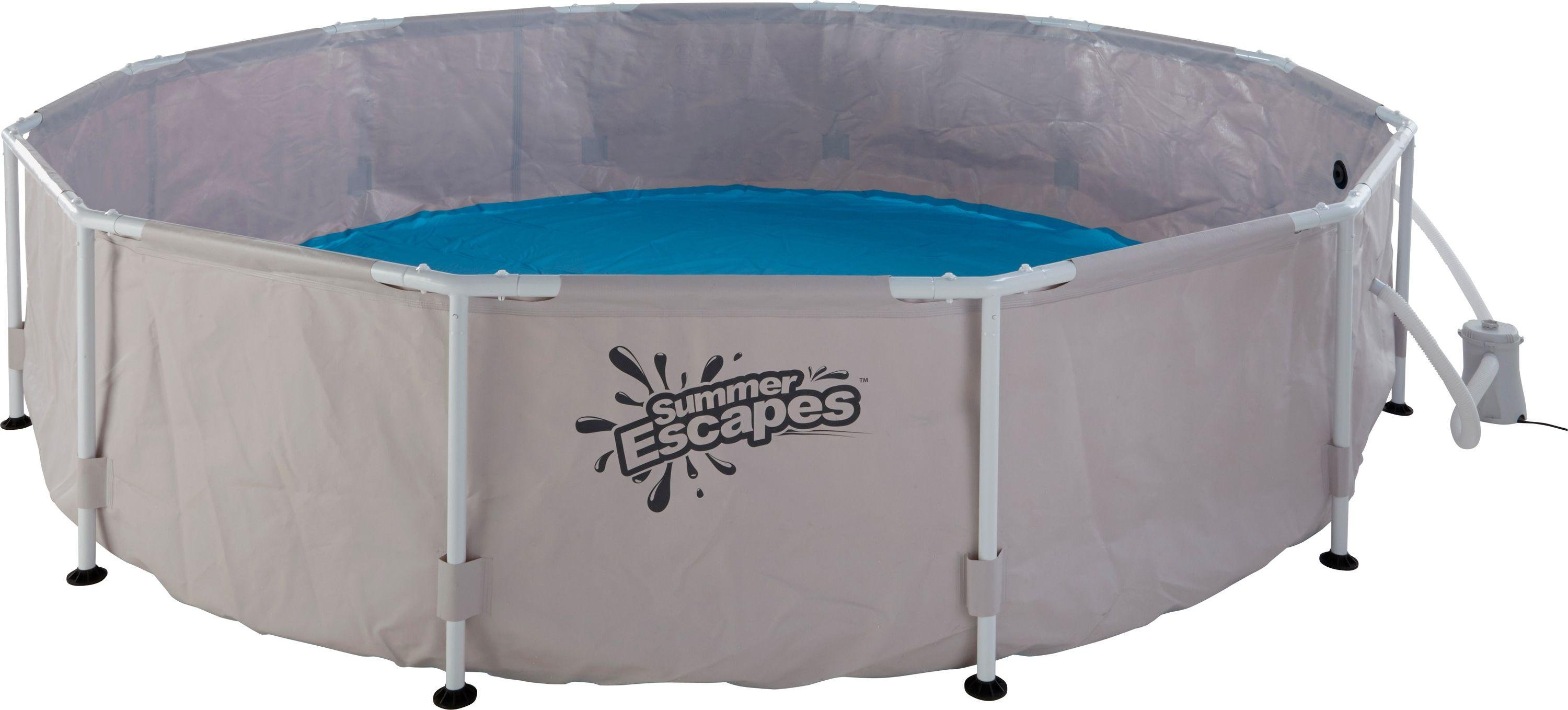 Summer Escapes Round Frame Pool   12ft   6056 Litres