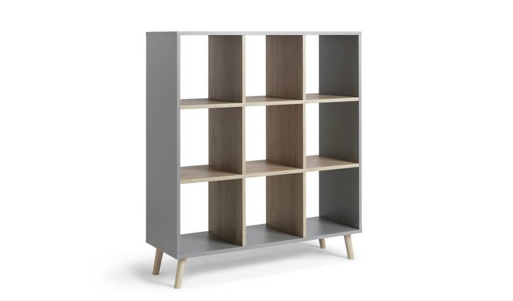 Habitat Skandi 3 x 3 Storage Unit - Grey Two Tone