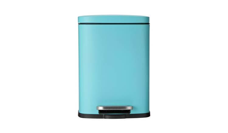 Buy Argos Home 5 Litre Rectangular Bathroom Pedal Bin ...