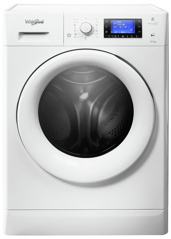 Whirlpool FWDD117168W 11KG / 7KG 1500 Washer Dryer - White