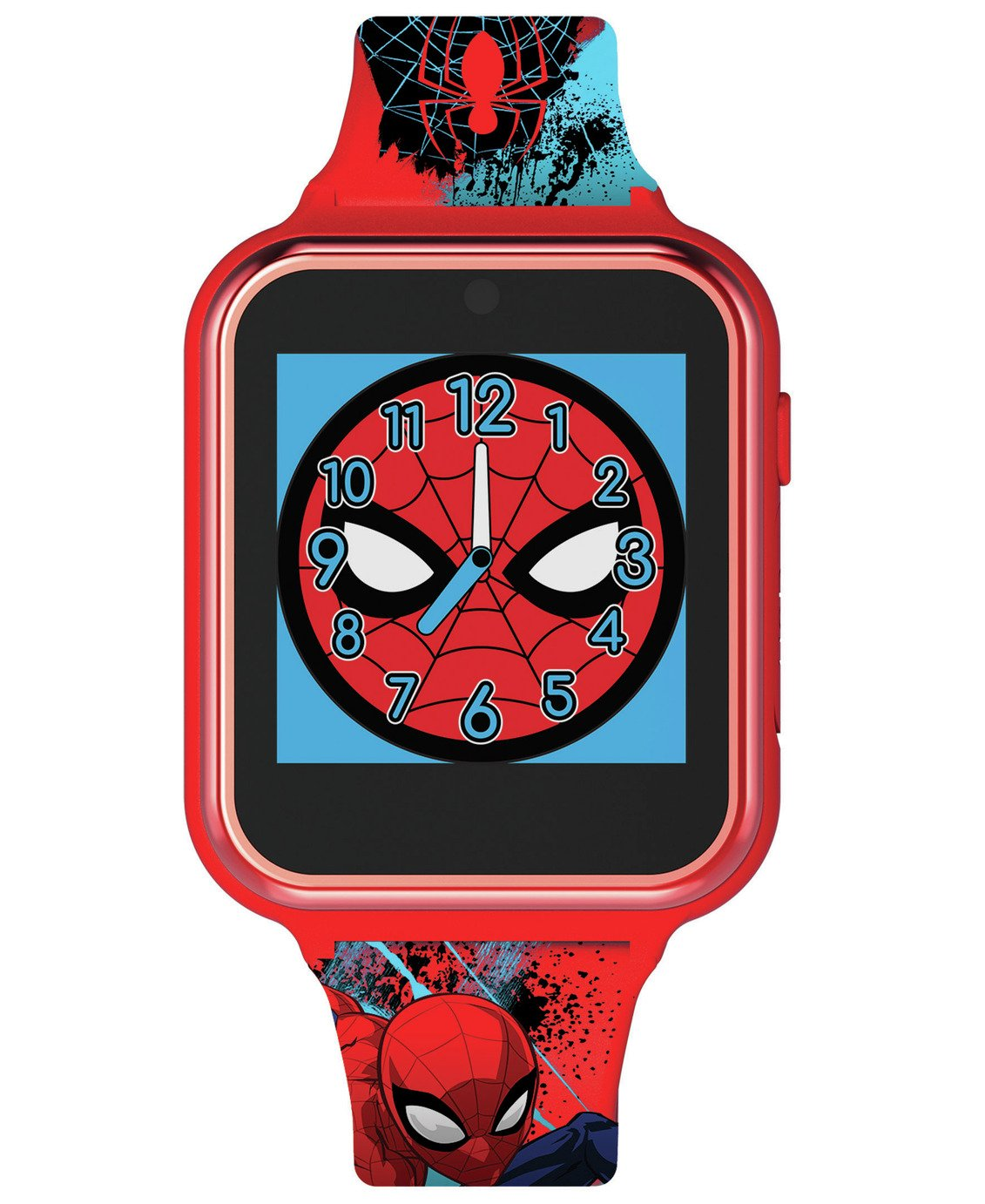 Disney Spiderman Multicoloured Silicone Childrens Watch