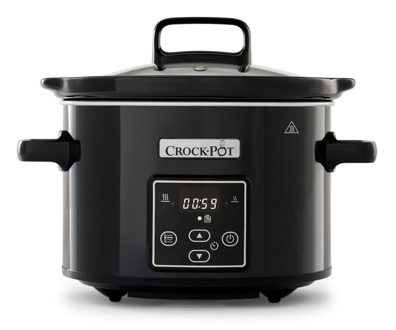 Crock-Pot 2.4L Digital Slow Cooker - Black