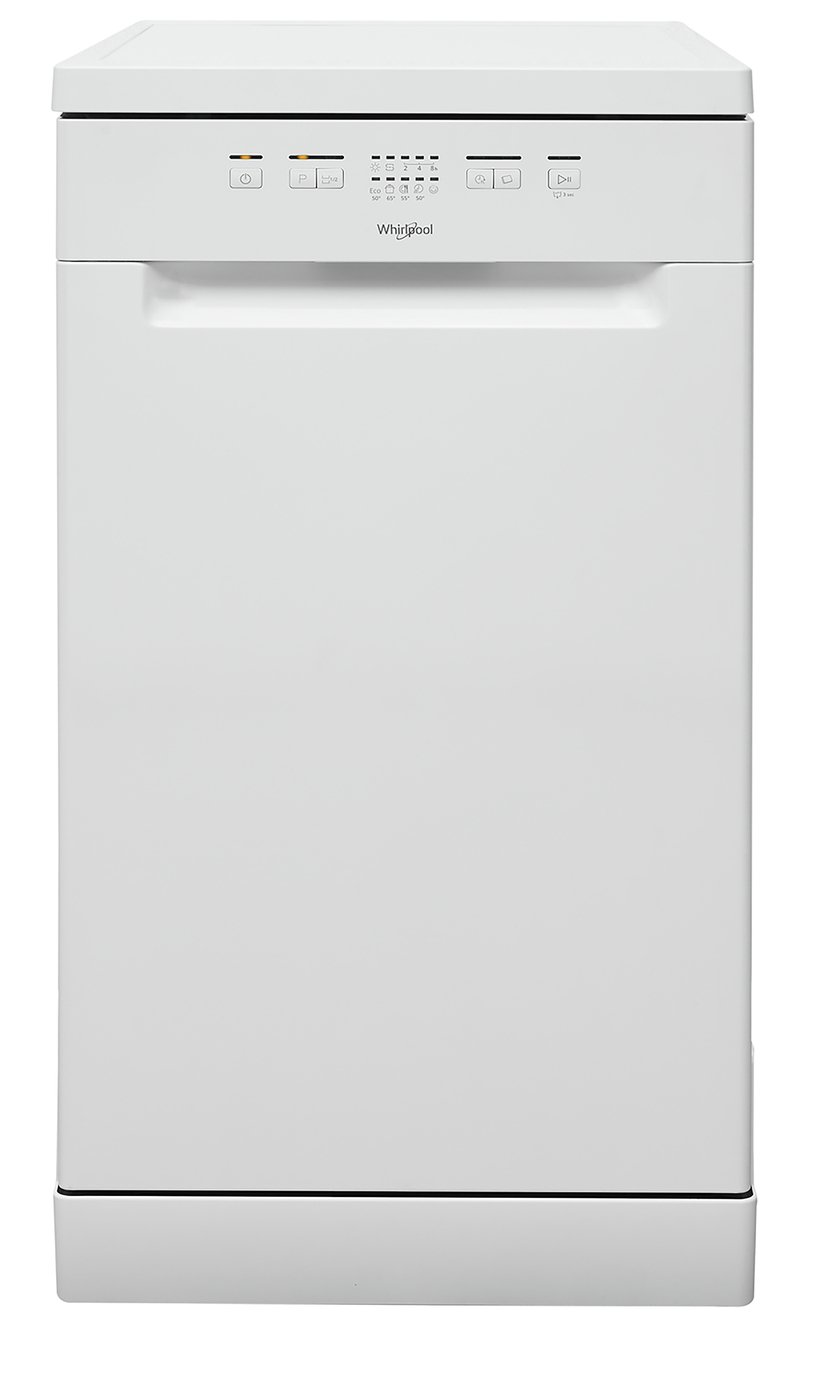 Whirlpool WSFE 2B19 UK Slimline Dishwasher - White
