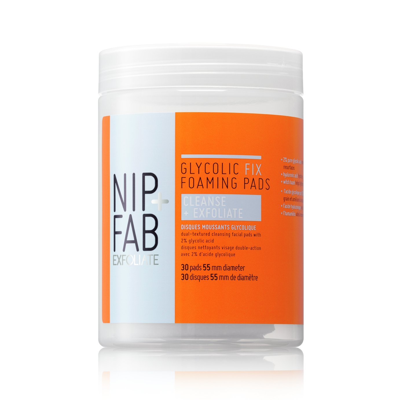 Nip+Fab Exfoliate   Glycolic Polish Pads (4 Pads)
