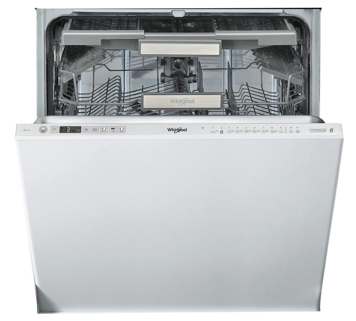 Whirlpool WIO3O33DEL Full Size Integrated Dishwasher - White