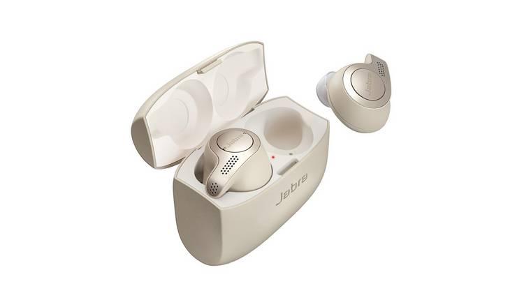 Buy Jabra Elite 65t True Wireless Earphones - Gold Beige | Headphones and  earphones | Argos
