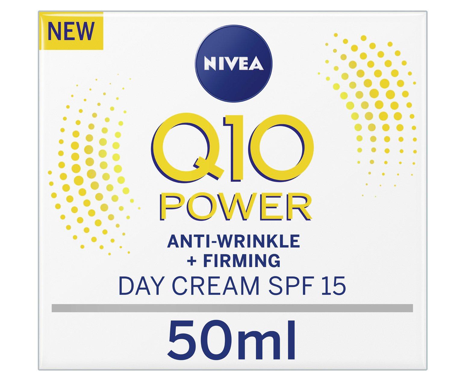 Nivea Q10 Anti-Wrinkle SPF15 Day Cream - 50ml