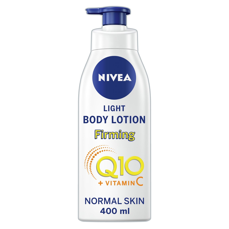 Nivea Q10+ C Light Firming Body Lotion - 400ml