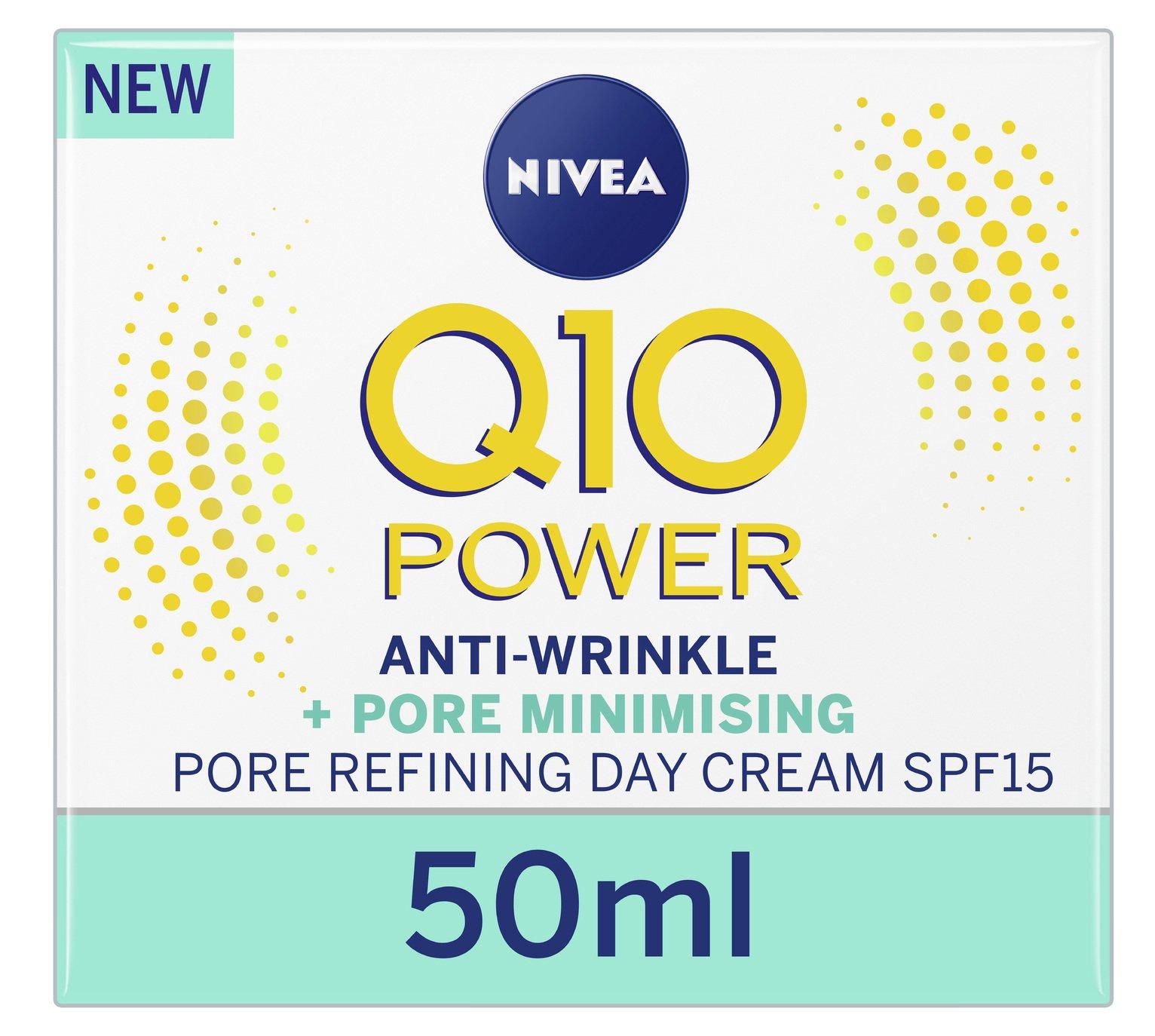 NIVEA Q10 Power Anti-Wrinkle + Pore Refine Day Cream - 50ml