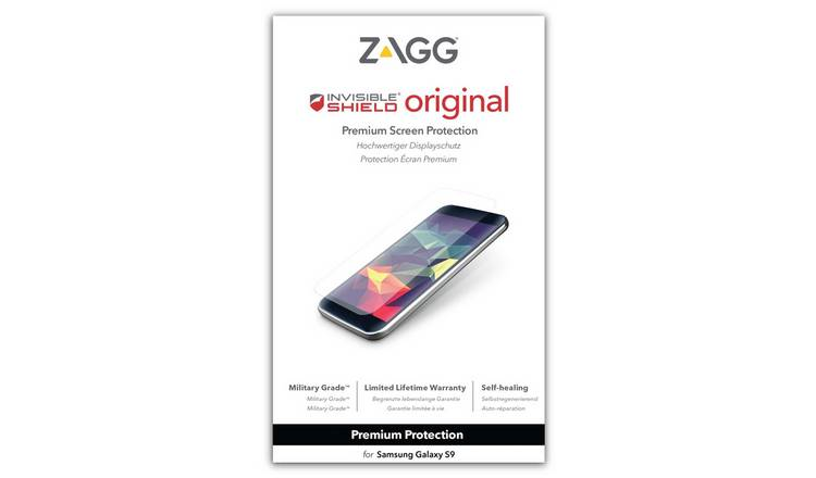 Zagg InvisibleShield Samsung Galaxy S9 Screen Protector