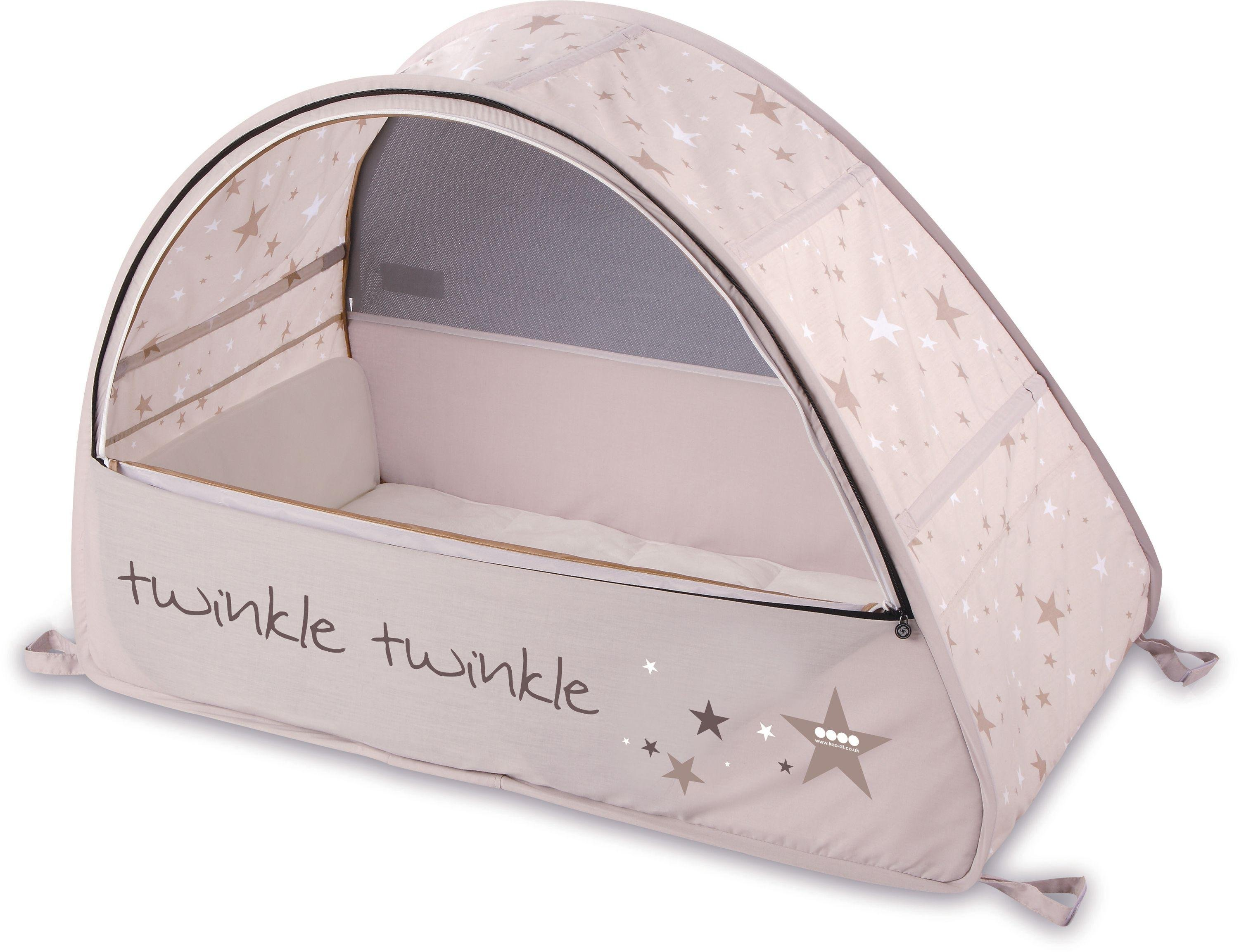 Koo-di Pop Up Sun and Sleep Bubble Travel Cot.