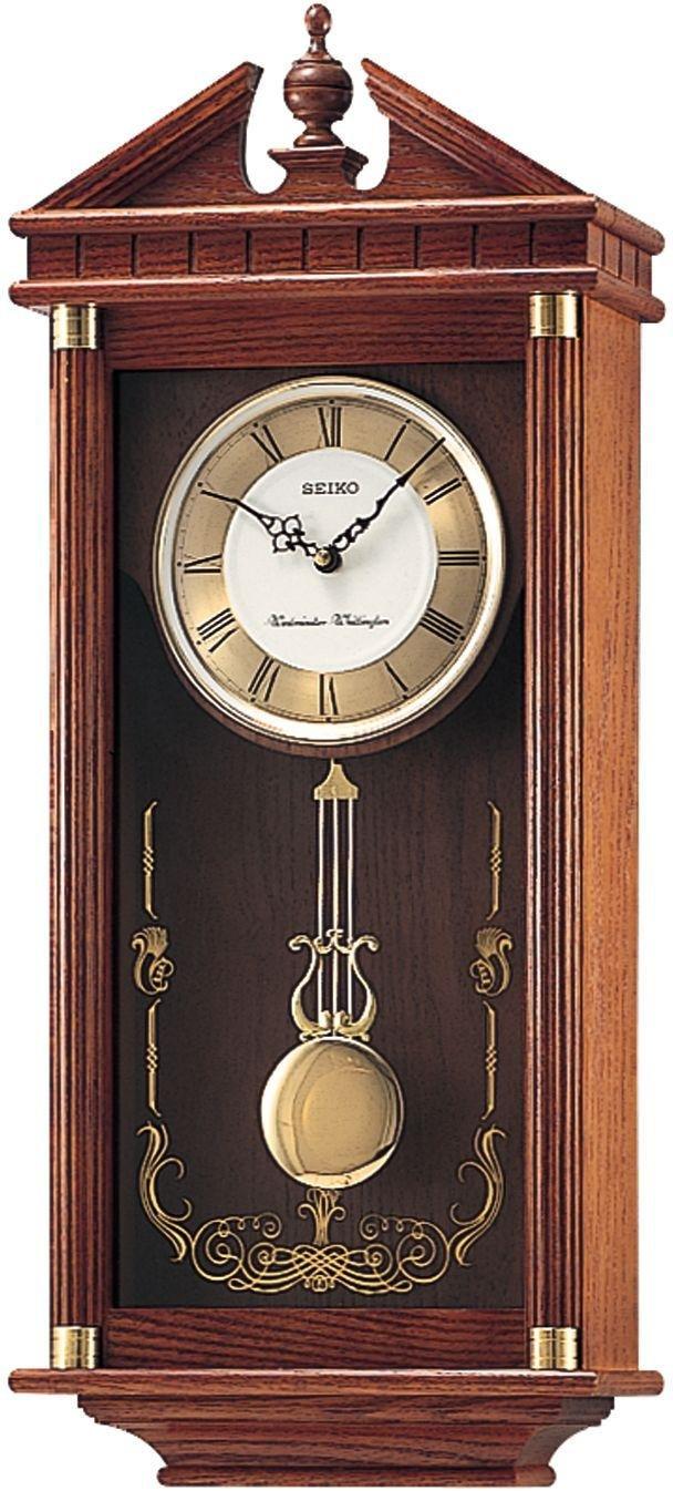 Seiko Oak Dual Chime Pendulum Wall Clock Review