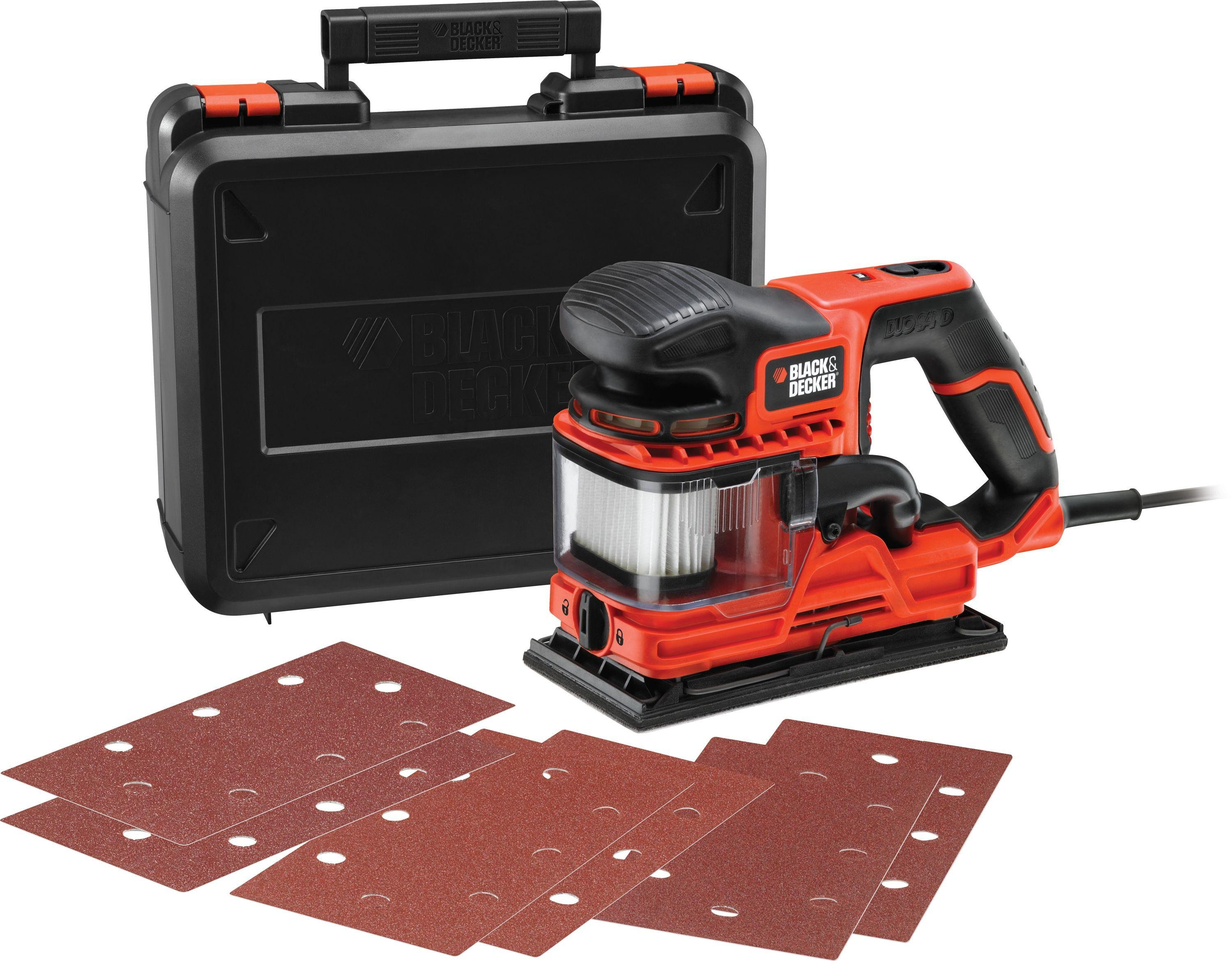 Image of Black and Decker - 270w Duosand 1/3 Sheet Sander