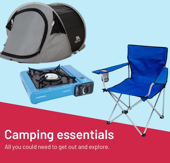 Camping essentials All you need to get out and explore.