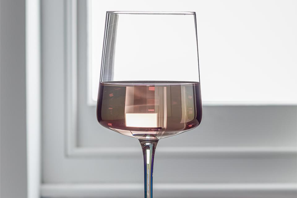 Argos Home Iridescent Lustre Set of 4 Wine Glasses.