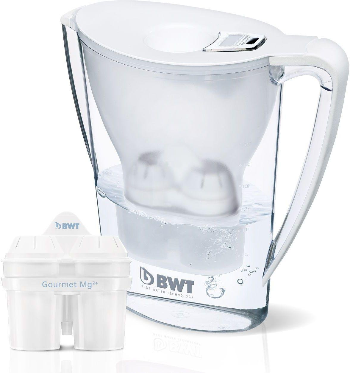 Image of Best Water Technology Filter Jug Plus One Cartridge - White