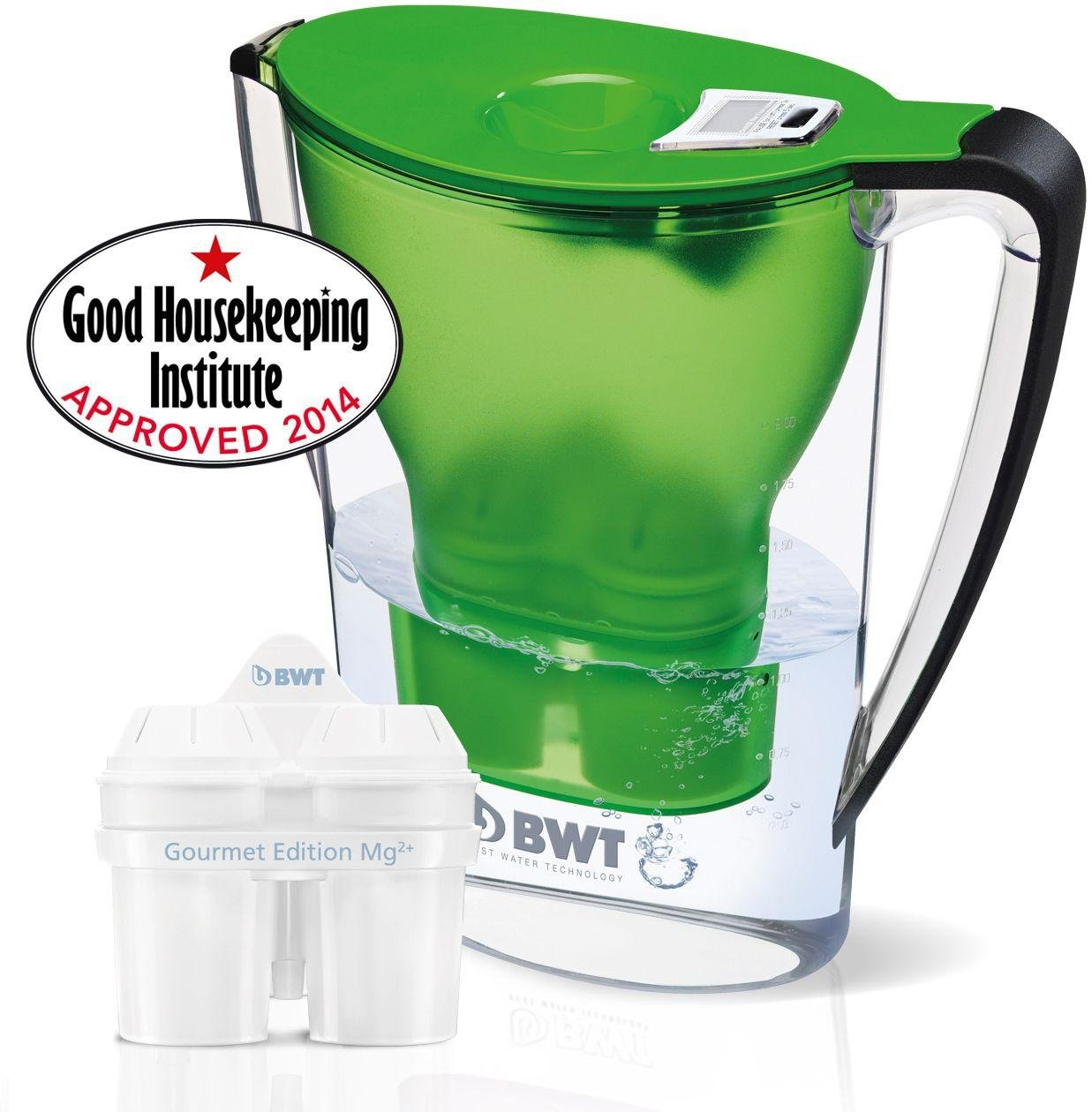 Image of Best Water Technology Filter Jug Plus One Cartridge - Green