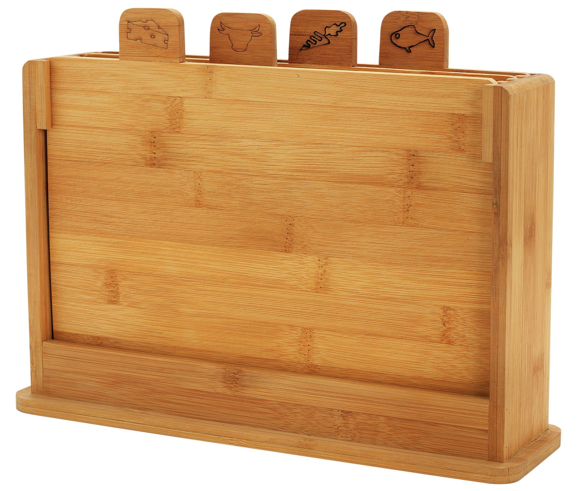 Image of Heart of House - Bamboo Chopping Board - Pack of 4