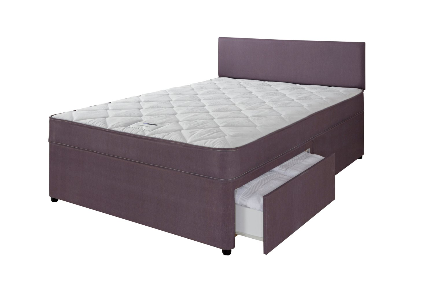 Forty Winks Newington Essential 2 Drawer Divan - Kingsize