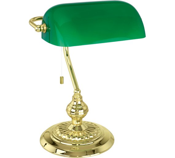 Buy eglo banker table glass light green at argos your click to zoom aloadofball Gallery