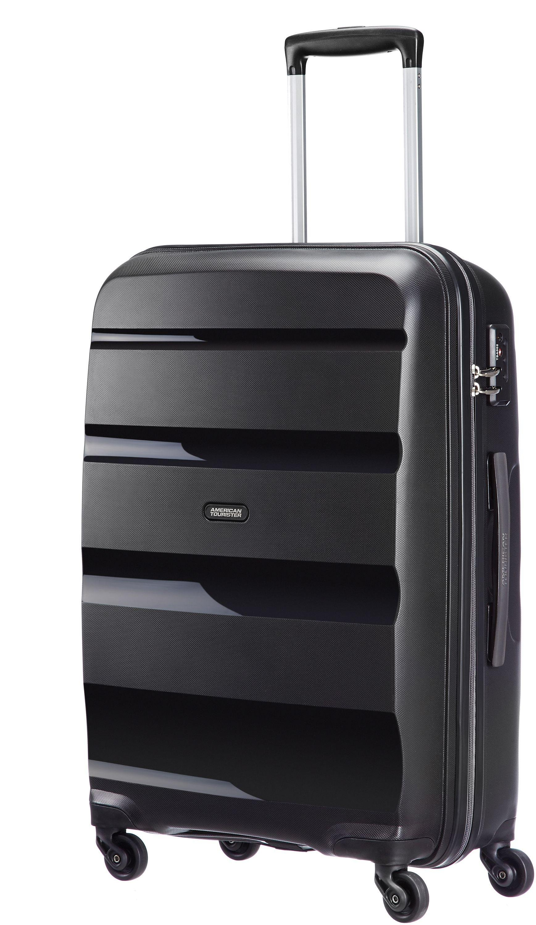 American Tourister Medium 4 Wheel Hard Suitcase - Black
