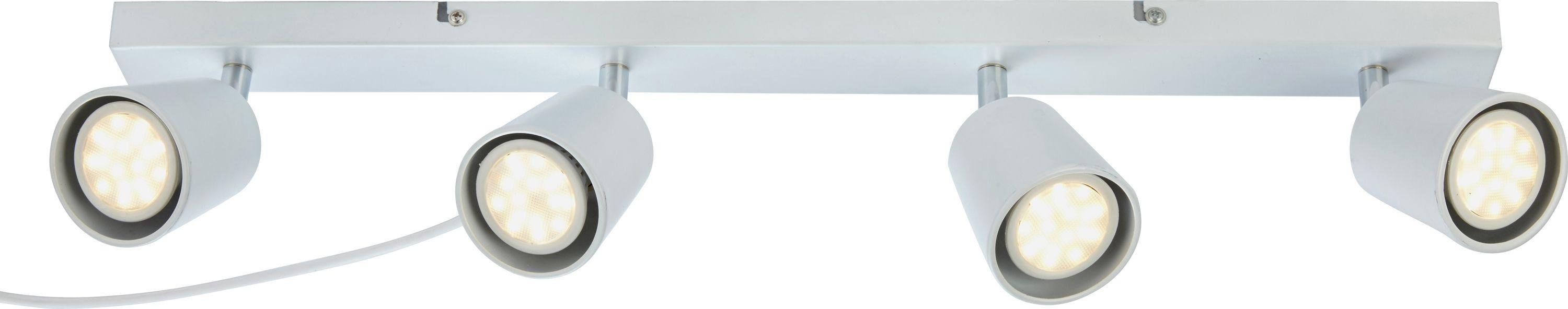 Collection - Miles 4 Spotlight Ceiling Bar - White
