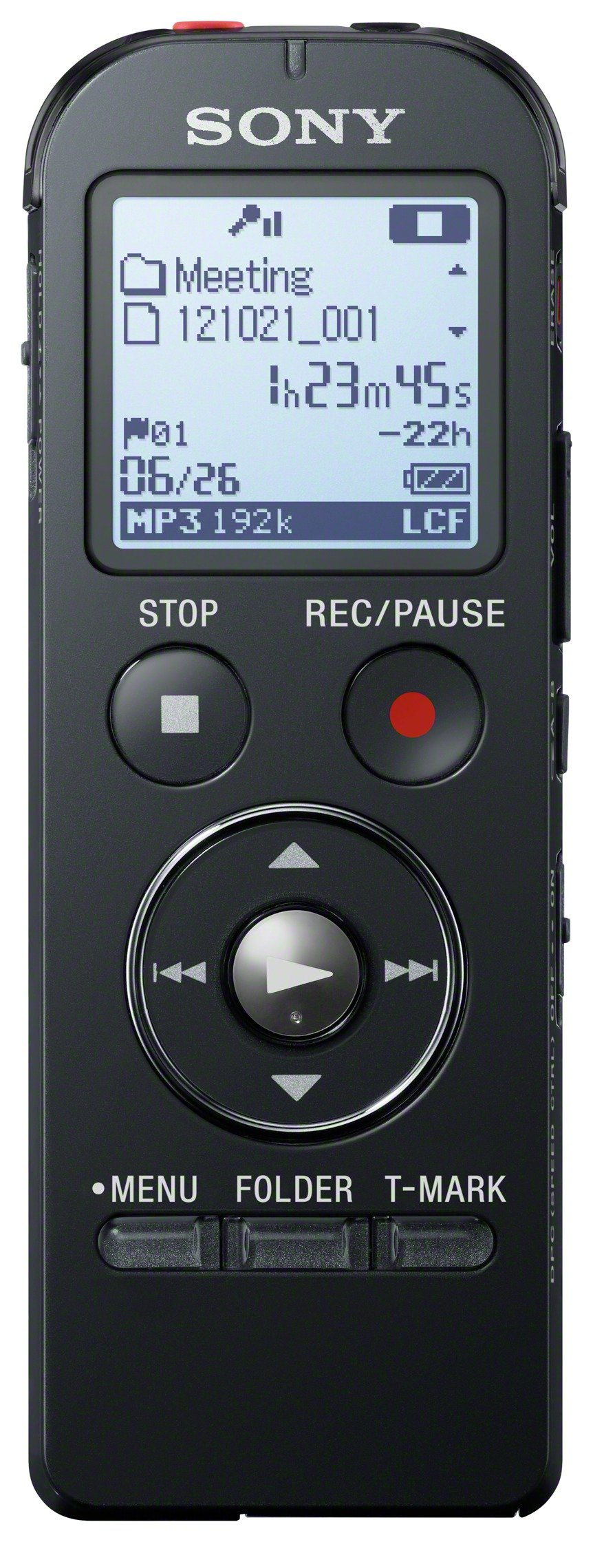 Sony Digital Voice Recorder with Built In USB.