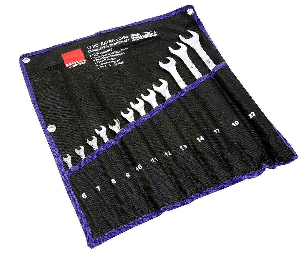 Hilka - 12 Piece Extra Long Spanners MM lowest price