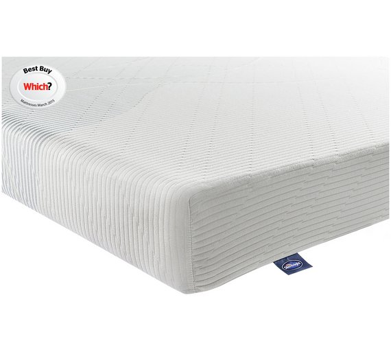 Buy Silentnight Memory Foam Rolled Small Double Mattress ... on small double shower, small double sheets, small double bathroom, small microwave, king size mattress, small bookcase, small table, small bed, small dining room, small single mattress, small double recliner, small foam mattresses, small sofa, super kingsize mattress, small bicycle, small chairs,