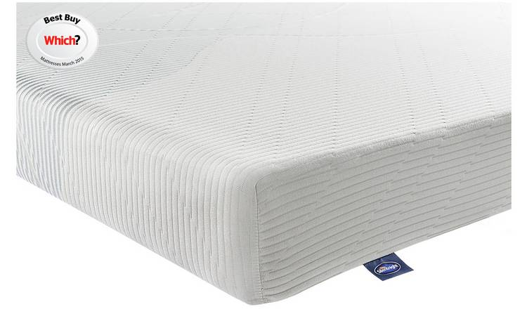 new style 37b46 38bb2 Buy Silentnight Memory Foam Rolled Small Double Mattress | Mattresses |  Argos