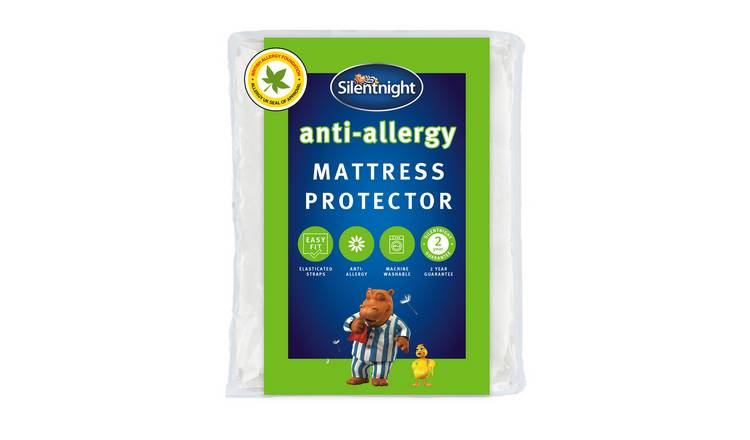 Silentnight Anti-Allergy Mattress Protector - Kingsize