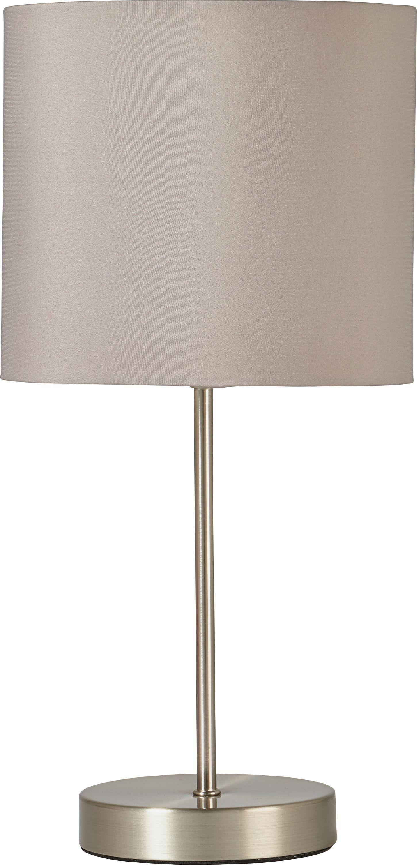 ColourMatch Satin Stick Table Lamp - Cafe Mocha