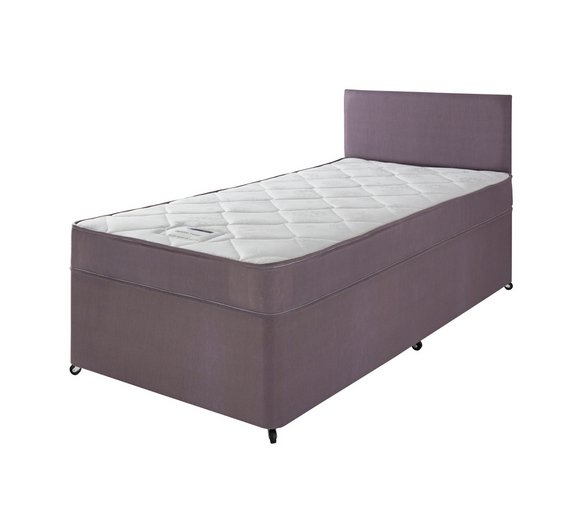 Buy forty winks newington essential divan single at your online shop for divan Argos single divan beds