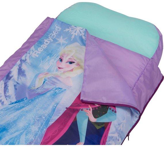 Buy Disney Frozen Junior ReadyBed Airbed Sleeping Bag At Argos