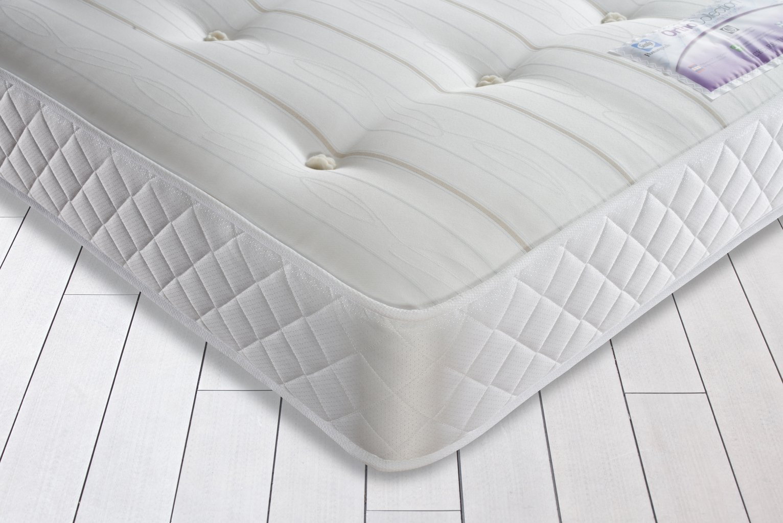 buy sealy sprung firm ortho double mattress at argoscouk your online shop for mattresses bedroom furniture home and garden - Ortho Mattress