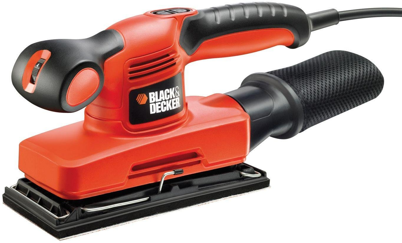 Image of Black and Decker - 240w 1/3 Sheet Sander and Kitbox