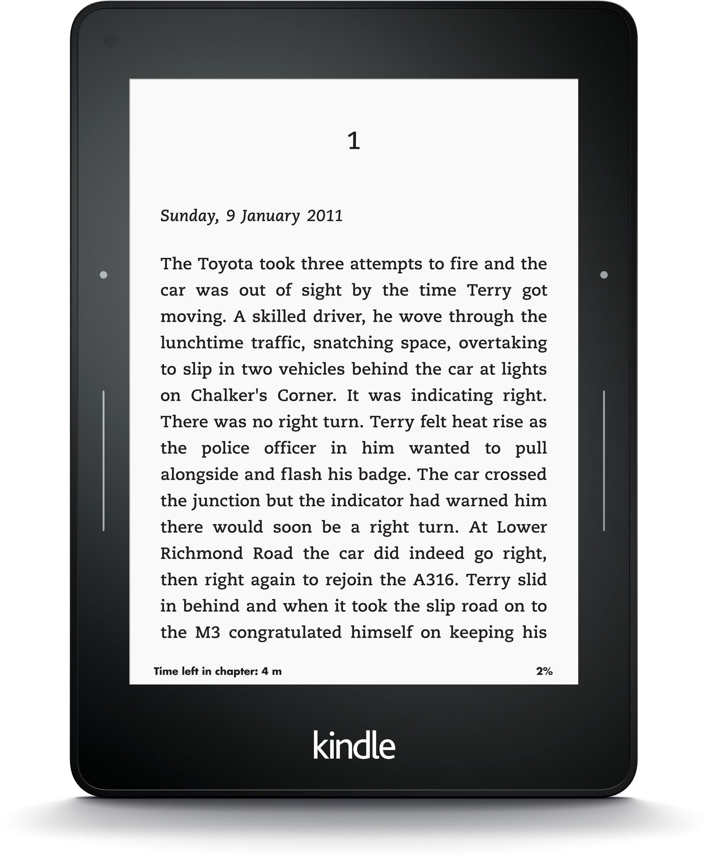 Kindle Amazon - Kindle - Voyage 3G.