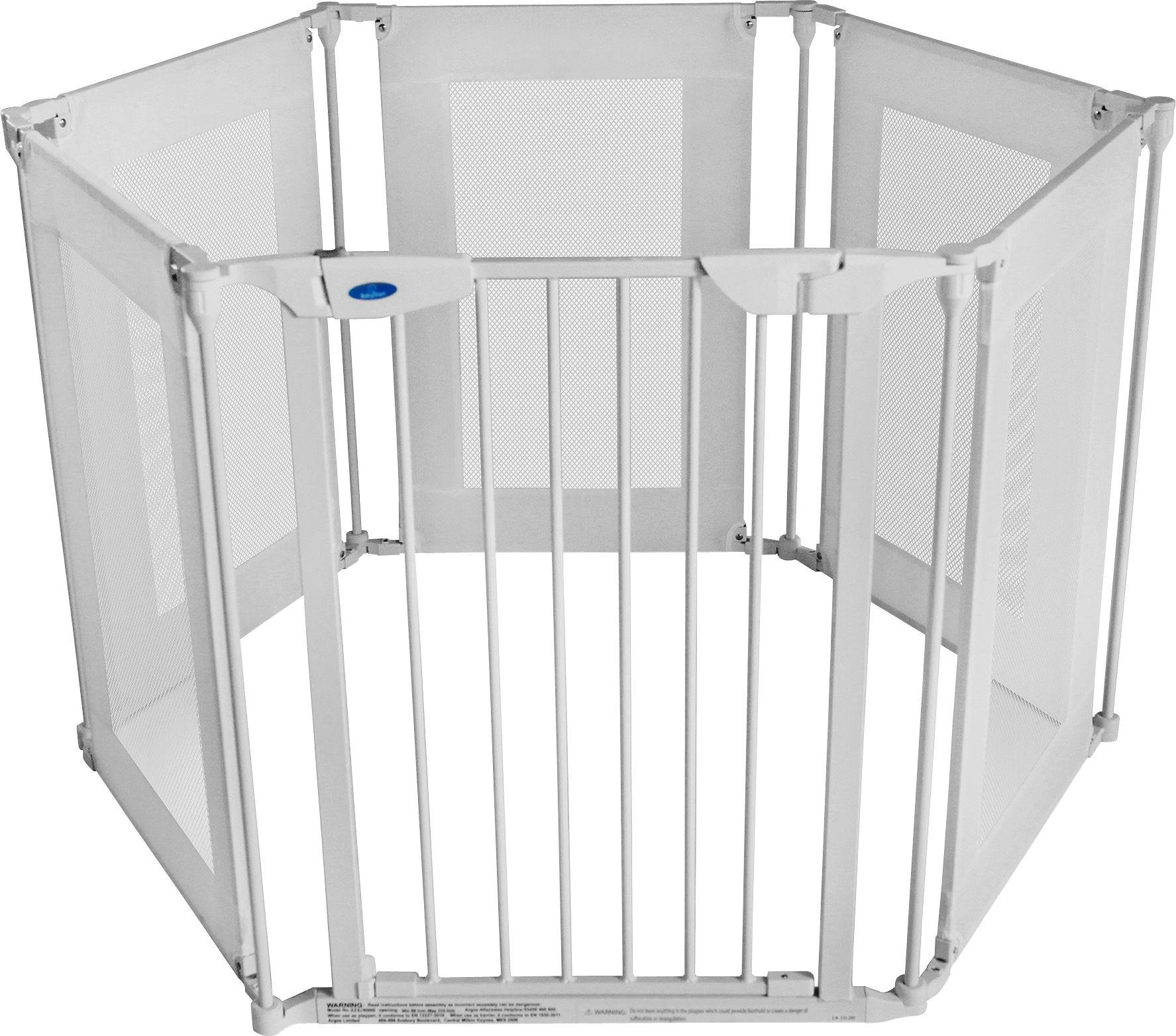 Image of BabyStart Metal and Fabric Playpen.