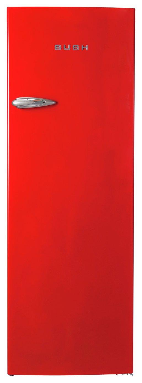 Image of Bush - Classic BRTL60170 Retro - Tall Fridge - Red