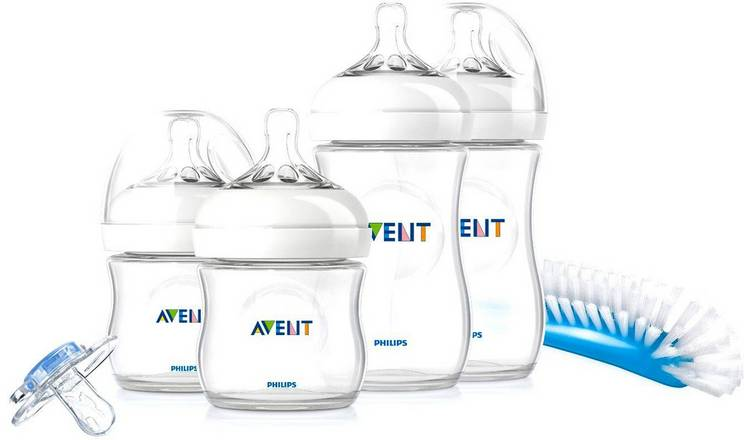 Baby Bottles Philips Avent Natural Newborn Starter Bottle Set And Additional Teats Baby