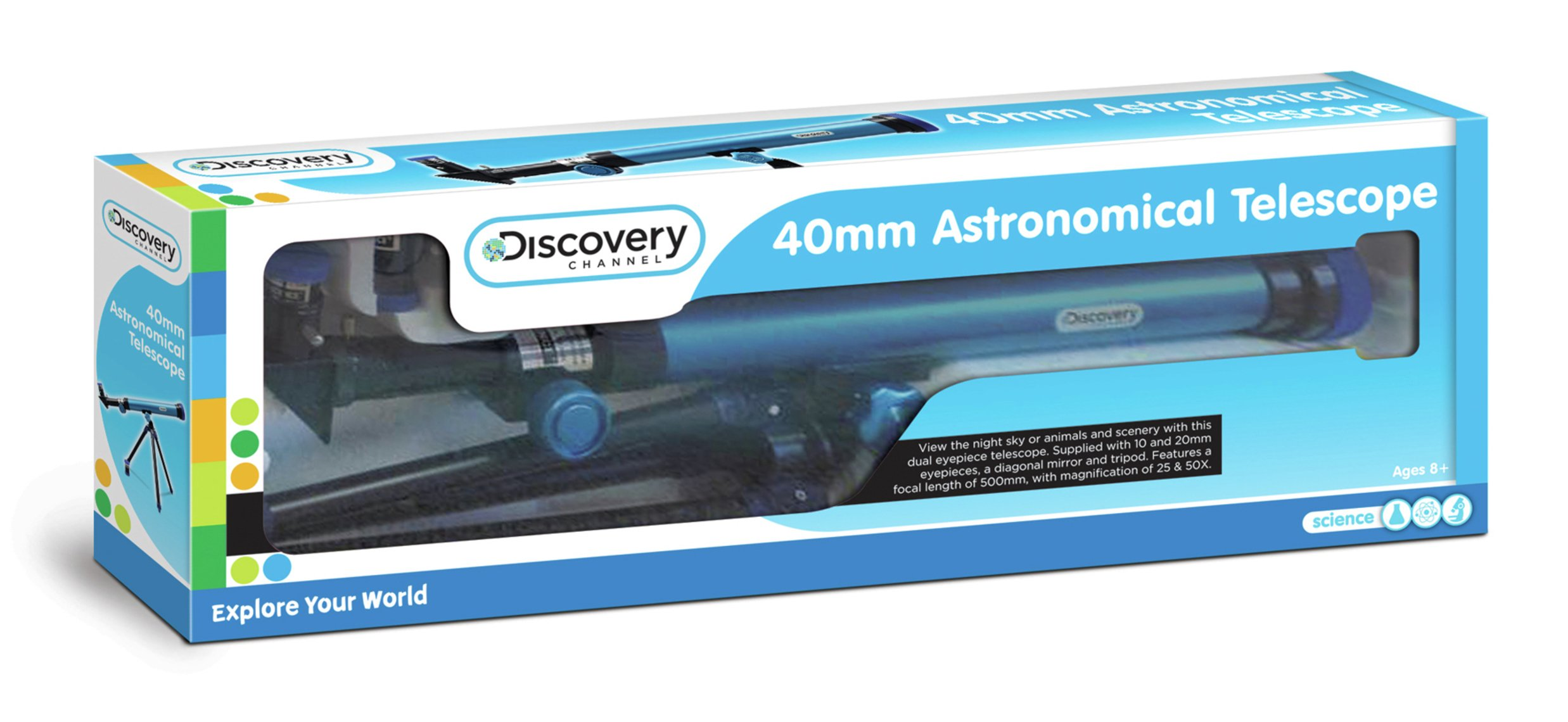 Discovery Channel 40mm Telescope