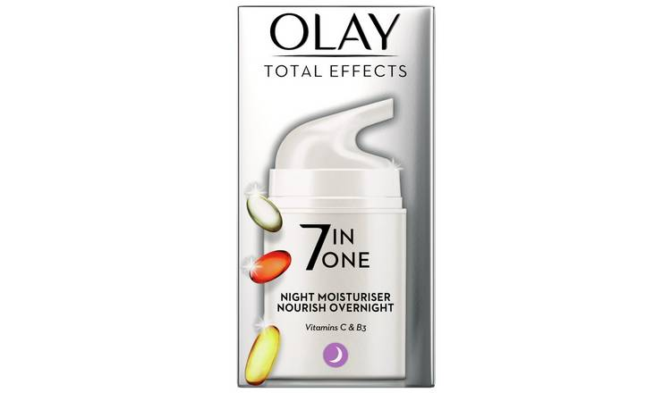 Olay Total Effects 7-in-1 Night Firming Moisturiser - 50ml
